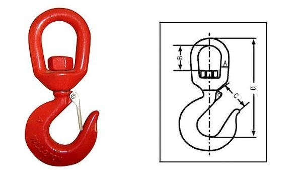 Buy US Type Swivel Hook-322 at wholesale prices