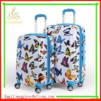 Quality xc-p-01 (43)pc printing luggage trolley bag for sale