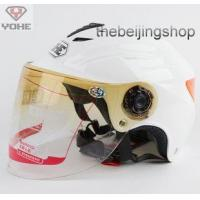 Quality Scooter Motorcycle helmet w/ Lens, Reflective sticker for sale