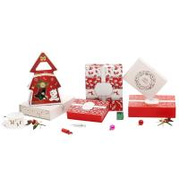 Buy cheap Custom printing paper cheapest Christmas gift box for sale from wholesalers