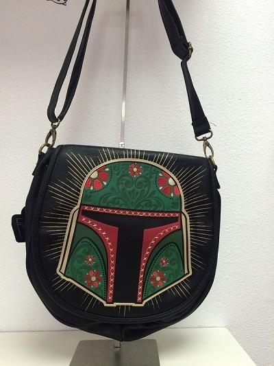 Buy STAR WARS Loungefly x Star Wars Black Boba Fett Satchel at wholesale prices