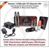 Quality eGo Vortex Variable Voltage Electronic Cigarette Kit for sale