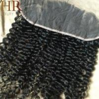 Quality Tight culry Lace Frontal,13x4 Lace,Ear To Ear 100% human hair for sale