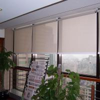 Quality Flame Retardent Durable Automatic Roller Blinds for sale