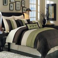 Quality Olympic Queen Sage Hudson Luxury 8-Piece Comforter Set for sale