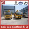 Buy cheap Dongfeng 4x2 truck mounted crane from wholesalers