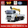 Buy cheap dongfeng 5.3-12 ton hydraulic truck crane from wholesalers