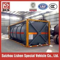 Buy cheap fuel transport tanker container iso storage tank from wholesalers
