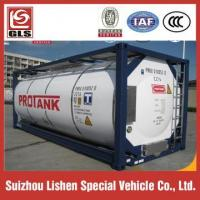 Quality Insulated 20ft 40ft Iso Tank Containers for Fuel Lpg Transport for sale