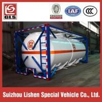 Buy cheap ISO 20ft 40ft Liquid Chemical Tanker Container Corrosive Tanker Storage from wholesalers