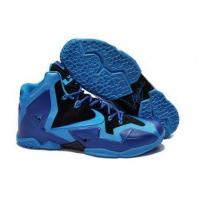 Quality A New Creative Director Nike Lebron 11 Blue Black Purple For Womens for sale