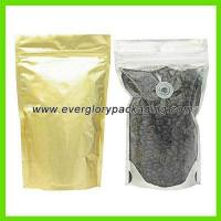 China Stand up coffee bag with valve on sale