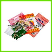 Quality ISO9001 Custom Printed Zip Lock Plastic Bag For Hand Rolling Tobacco Pack for sale
