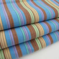 Quality 100 cotton woven fabric 100% Cotton Yarn Dyed Stripe Woven Fabric for sale