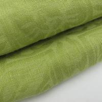Quality 100% Cotton Yarn Dyed Jacquard Fabric Green for sale
