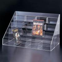 China Brochure and Leaflet Holder Acrylic Book Display Rack on sale