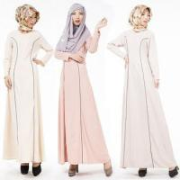 Quality 2016 Aliexpress hot design long sleeves O neck casual muslim clothing for women MSL0020 for sale