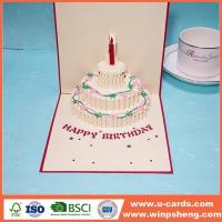 Quality Handmade Card Make A Pop Up Birthday Card Ideas for sale