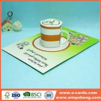 Buy cheap Handmade Card Pop Up I Love You Card Template For Mothers Day from wholesalers