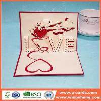 Buy cheap Handmade Card Amazing Design Wedding 3d Pop Up Greeting Cards from wholesalers