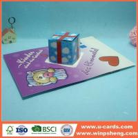 Buy cheap Handmade Card Easy Flower Handmade Pop Up Card For Mother's Day from wholesalers
