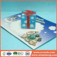 Buy cheap Handmade Card Merry Christmas 3d Popup Cards Making from wholesalers