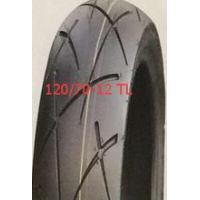 Buy cheap scooter tyre 120/70-12 130/70-12 TL tubeless tyre from Wholesalers