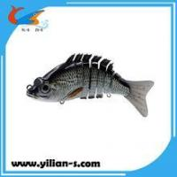 Quality 3D Eyes Multi Jointed Fishing Lure Pike Fishing Lure for sale