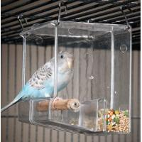 Buy cheap Acrylic Seed No-Mess Bird Feeder from wholesalers