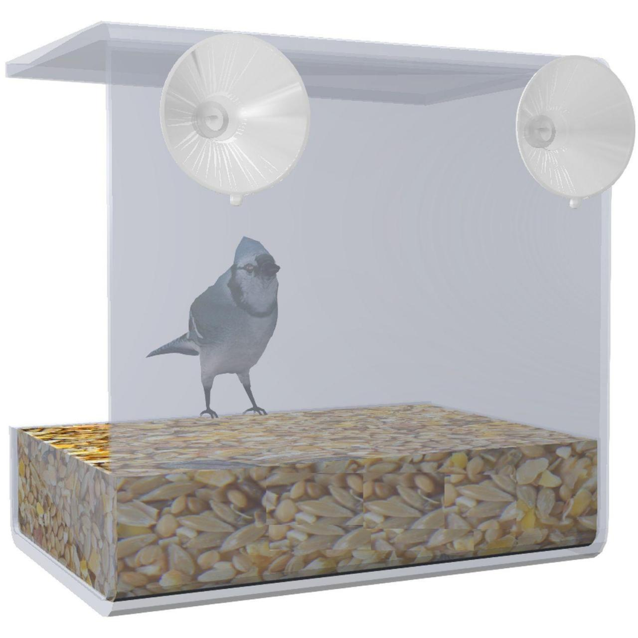 Buy cheap Acrylic Clear View Window Bird Feeder from wholesalers