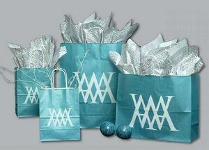 """Buy Ice Collection Shopping Bag - 8""""X4.5""""X10.25"""" (Bronze Coffee) at wholesale prices"""