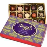 Quality chocolate&cartoon gift Mothers Day 1/2 Lb Assorted Truffle Box.No.37 delivery gift to s for sale