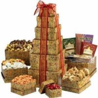 Quality chocolate&cartoon gift The Ultimate Gourmet Gift Tower.No.40 delivery gift to australia for sale