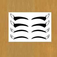Quality eye liner body art temporary tattoo for makeup for sale