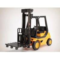 Quality R/C Truck 1:8 Large Scale Kids Plastic Yellow R/C Forklift Truck Toy for sale