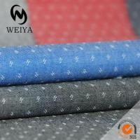 Quality cotton dobby fabric for shirting fabric for sale