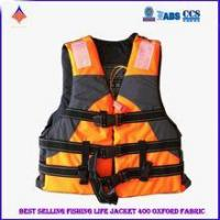Quality High Quality 400D Oxford Fabric Portable Life Jacket Accept Size and Logo Printed Personalized for sale