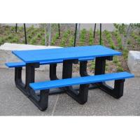 China Park Place Style Recycled Plastic Picnic Table on sale