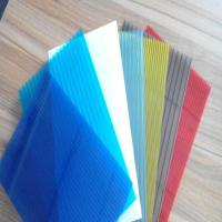 Quality Polycarbonate Hollow Sheet 8mm Transparent Clear PC Hollow Sheet Plastic Sheet for sale
