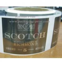 Buy cheap Silver PET film label from wholesalers