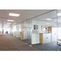 Quality Office Interior Frameless Laminated Glass Partitions for sale