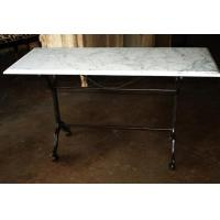 Quality Rectangle Polished Tempered Marble Glass Dining Table Tops for sale