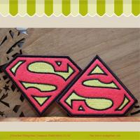 Buy cheap 2014 Hot Sale Superman Embroidery Badge Iron On Jacket/Jeans from wholesalers