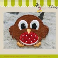 Buy cheap hot sale lovely bird embroidery badge iron on garment from wholesalers
