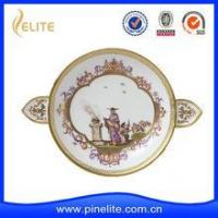 Quality Promotional cheap custom Gold enamel badge for sale