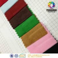Buy cheap Dyed cotton corduroy stripe fabric from wholesalers