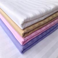 Buy cheap hotel stripe fabric white from wholesalers