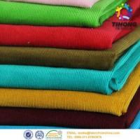 Buy cheap Dyed corduroy fabric for garment from wholesalers