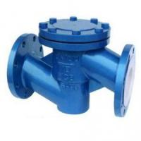 Quality Check valve H41F46 Lift PTFE lined check valve for sale