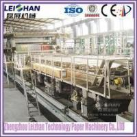 China For occ waste paper recycling, single face corrugating paper machine on sale